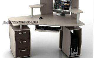 Собираем угловой компьютерный стол с надстройкой самостоятельно