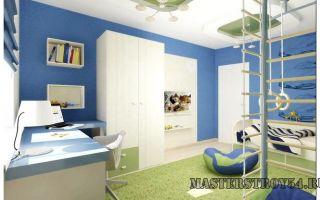 Шведская стенка в детскую комнату