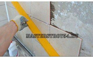 Укладка кафеля: тонкости отделки стен керамической плиткой