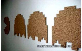 Пробковые доски на стену