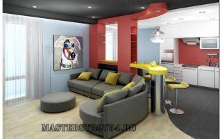 Современные проекты кухонь, совмещенных с гостиной