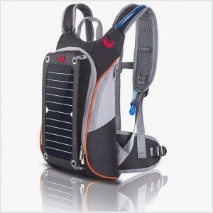 Новый энергетический рюкзак на солнечных батареях