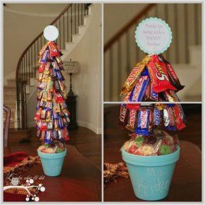 Вкусное новогоднее дерево в подарок