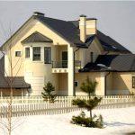 Декор фасада из пенополистирола