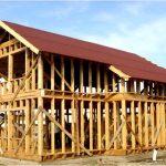 Как проходит строительство каркасного дома?